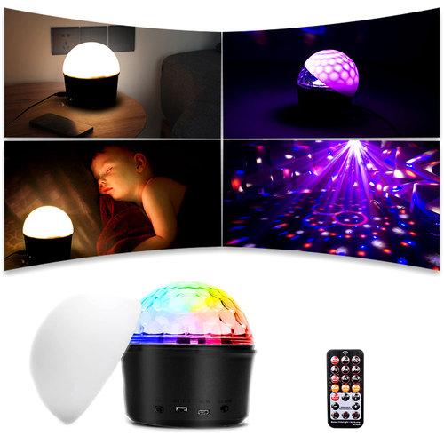 b260 disco ball bluetooth soundbar