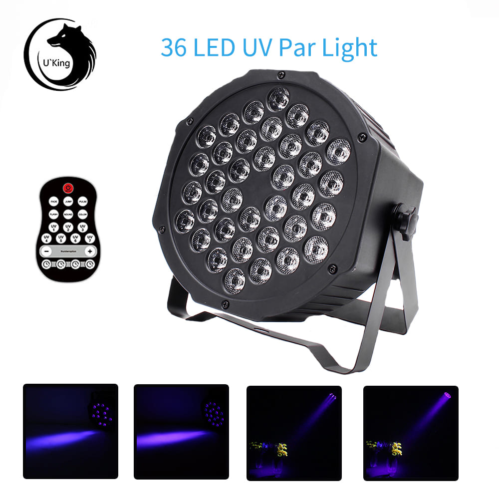 B353 Par Can UV Stage Light Wash wall