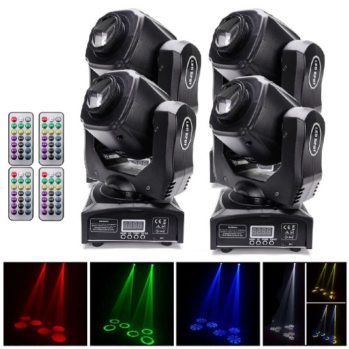 4xB283 Moving Head Light Triangular Stage Lighting